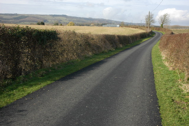 Road to Ballard's Farm