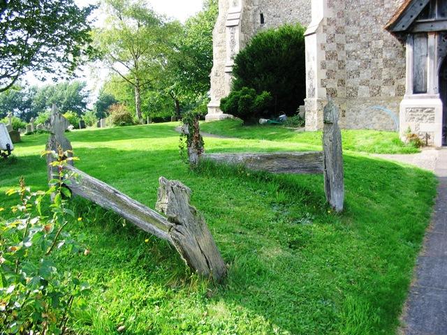 Grave Boards in Marsworth Churchyard