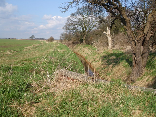 Dodds Dyke at Sand hill