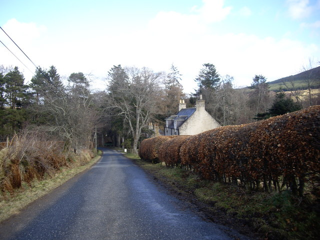 Roadside cottages by Beldorney