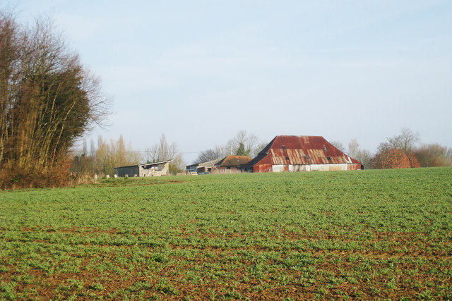 Farm Buildings at Oxenbridge, Hobbs Lane, Beckley