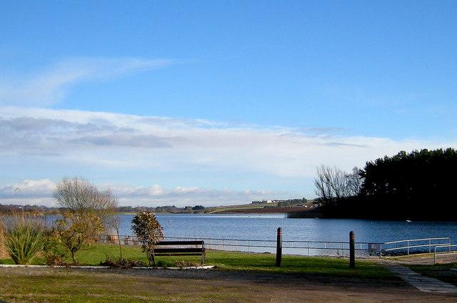 View of Rescobie Loch, near Forfar