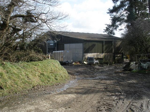 Farmyard, Binworthy Barton