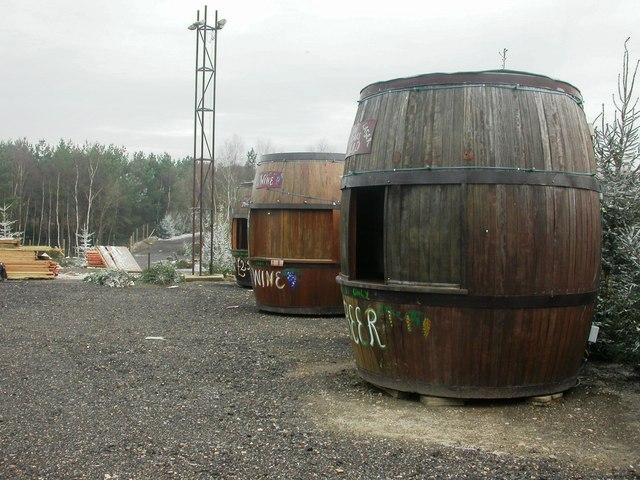 Matcham's Park, barrels