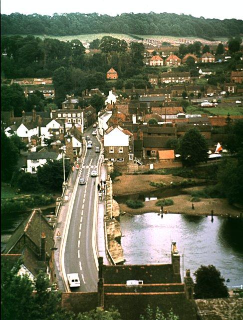 Severn Bridge at Bridgnorth