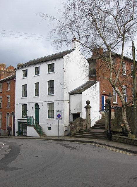 Elegant Georgian building, St. Mary's Street