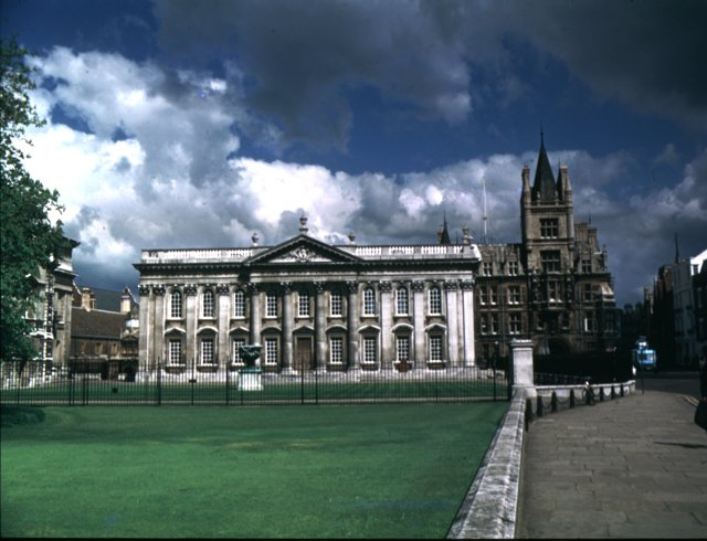 Senate House and Caius college