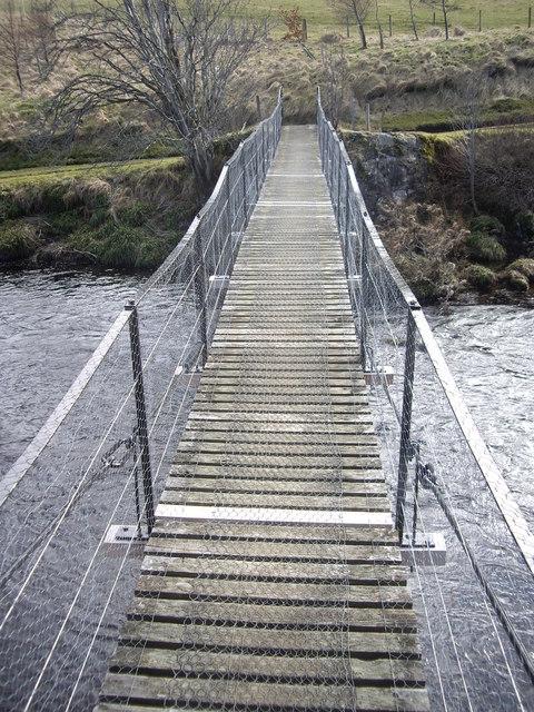 Footbridge over the Deveron