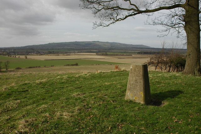 Trig point on Blake's Hill