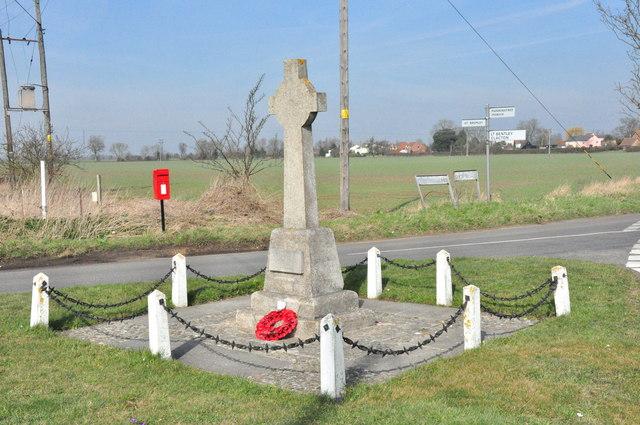 War Memorial, Little Bromley