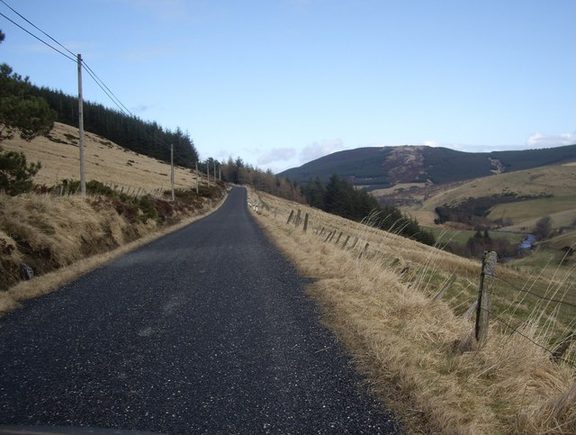 Road to Haugh of Glass