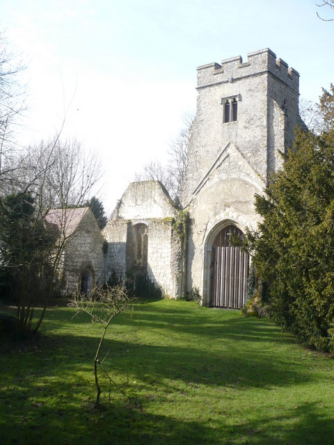 The church of St. Mary, Eastwell