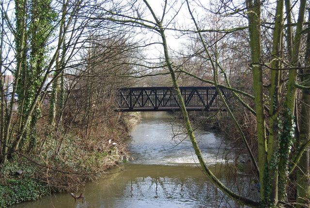 Footbridge over the Botany Stream