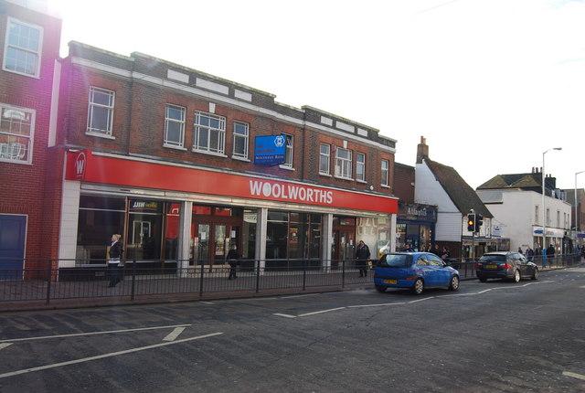 Ex Woolworths, High St