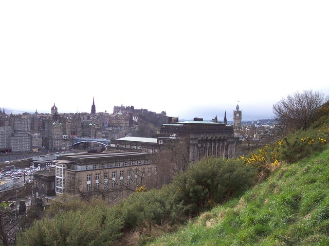 St Andrew's House from Calton Hill
