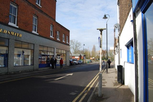 Bradford St, High St