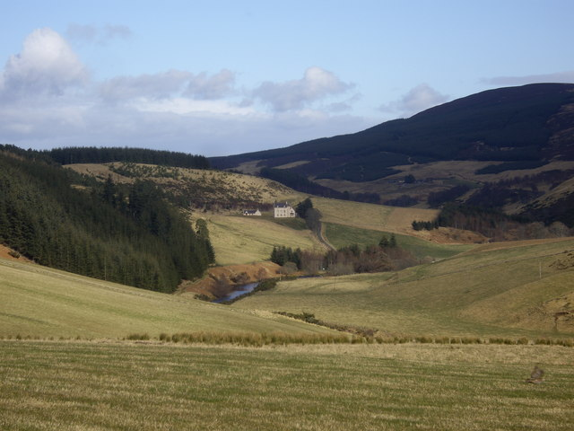 View down the Deveron valley