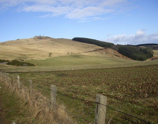 View across Linn Burn