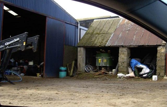 Belcherrie farmyard