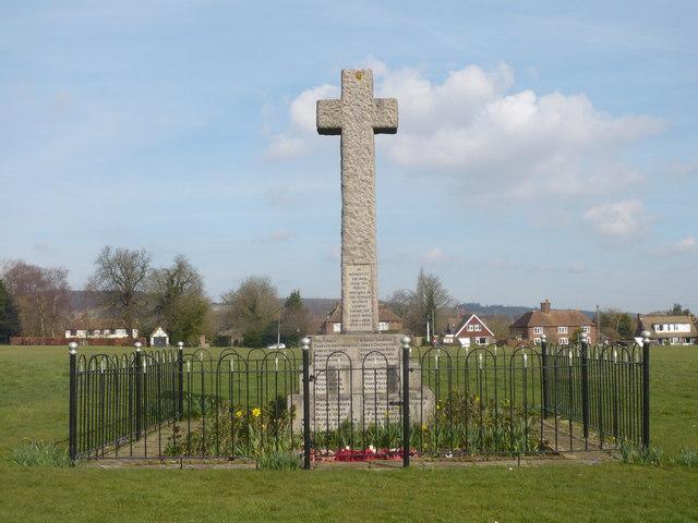 War memorial on Boughton Lees Green