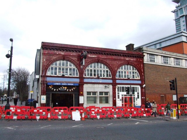 Lambeth North Station