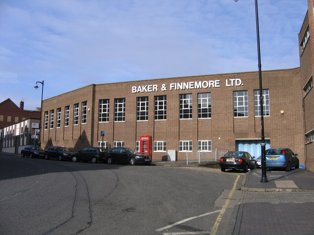 Baker & Finnemore Ltd on the Site of the New Hall