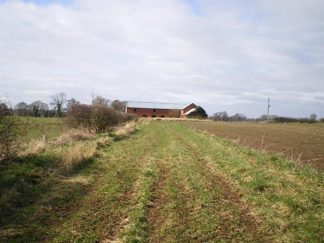 Field barn west of Wem