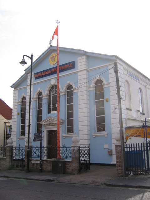 Ramgarhia Sikh Temple, formerly Highbury Independent Chapel