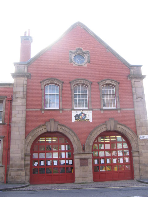 Converted Fire Station, Albion Street Jewellery Quarter Birmingham