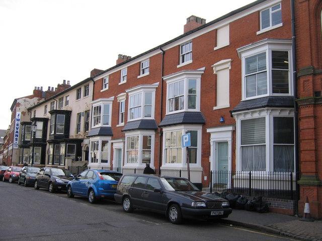 """Factory Houses"", Albion Street, Jewellery Quarter Birmingham"