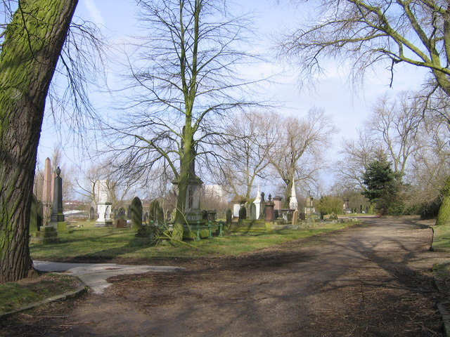 Church of England Cemetery Jewellery Quarter Birmingham