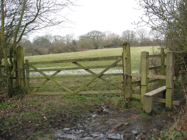 Shirland - Footpath Junction off Dog Lane