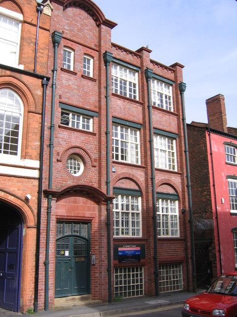 """Factory House"" 16 Regent Street, Jewellery Quarter Birmingham"