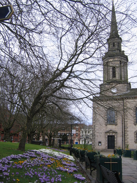 St Paul's Church Jewellery Quarter Birmingham
