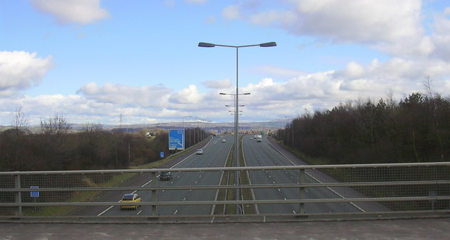 M65 looking East