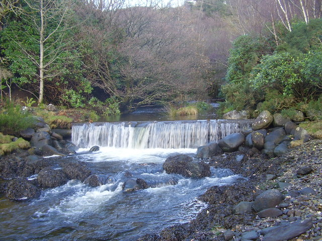Weir on Invervegain Burn
