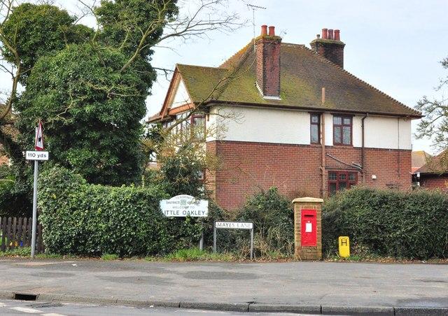 Mayes Lane post box
