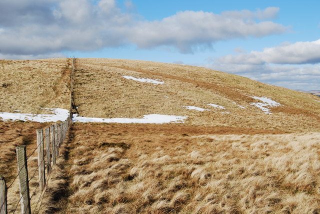 Hods Hill summit  with early March snow