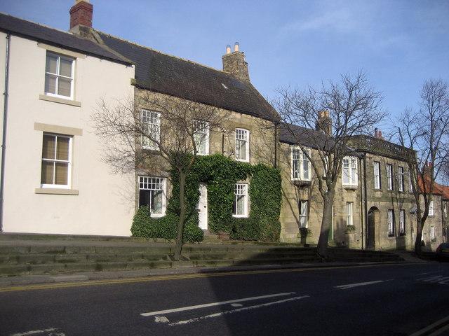Houses on Castle Street, Warkworth