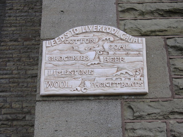 Plaque on the Clayton-le-Moors Conservative Club
