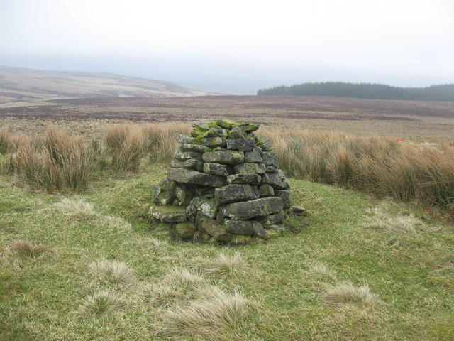 Cairn on Smallhope Rigg