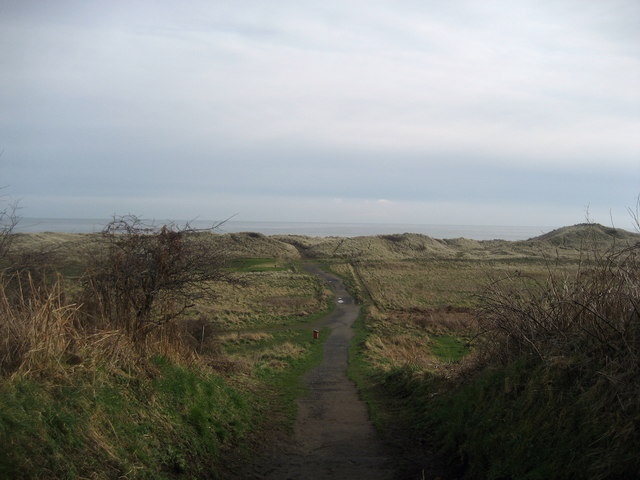 Path to the Beach, near Warkworth