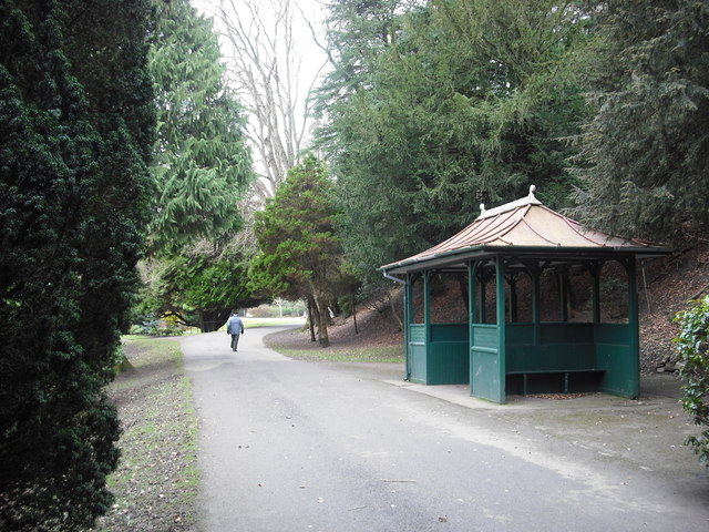 Shelter in Wilton Lodge Park Hawick