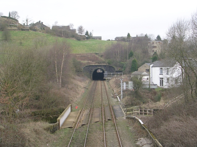 View from Bridge 95 - Rochdale Road