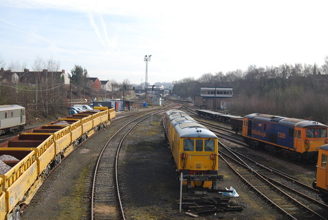 Railway Sidings, West of Tonbridge Station