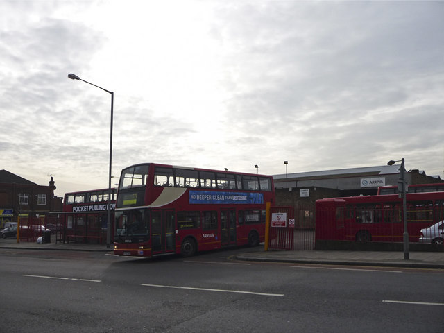 Bus Station, Southbury Road, Enfield
