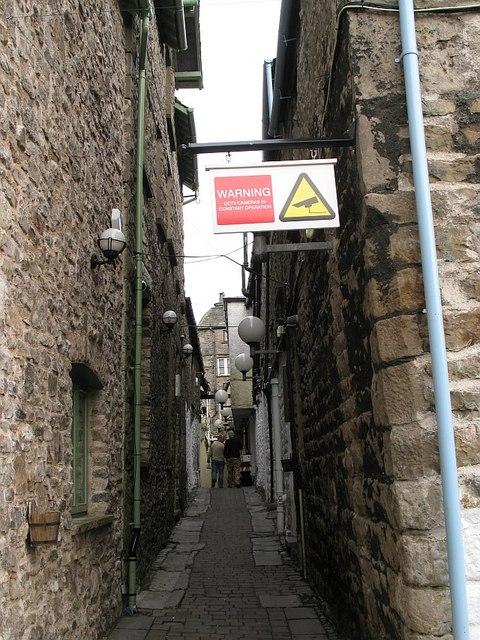 Quaint passageway - and blight