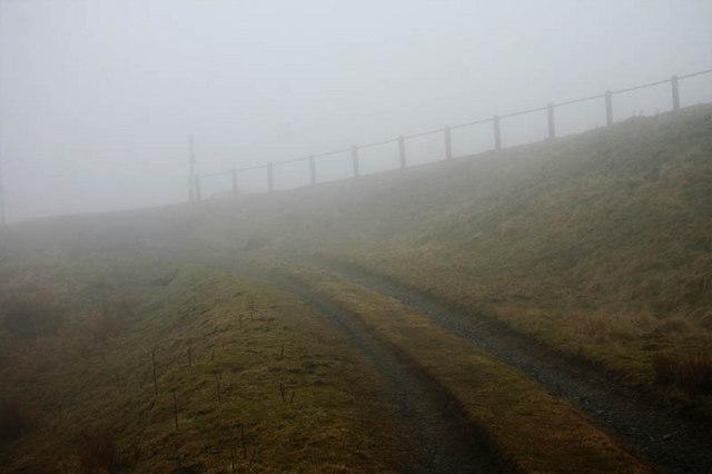 Junction in the fog