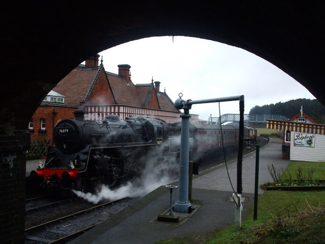 76079 at Weybourne station