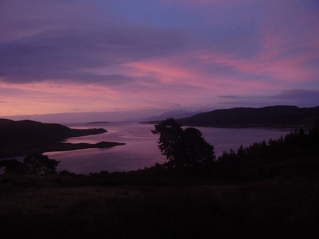 Sunrise over the Kyles of Bute